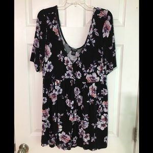 Torrid Floral Shirt GUC